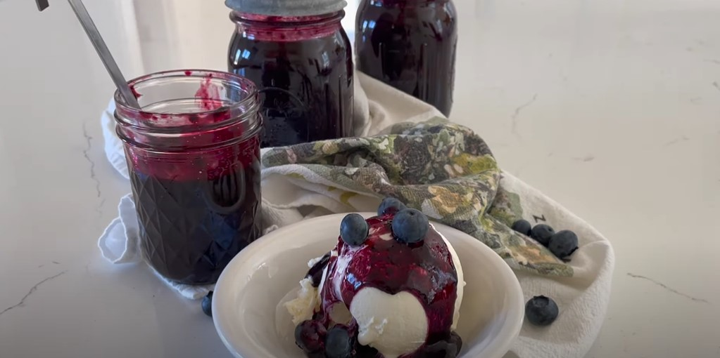 blueberry maple syrup recipe