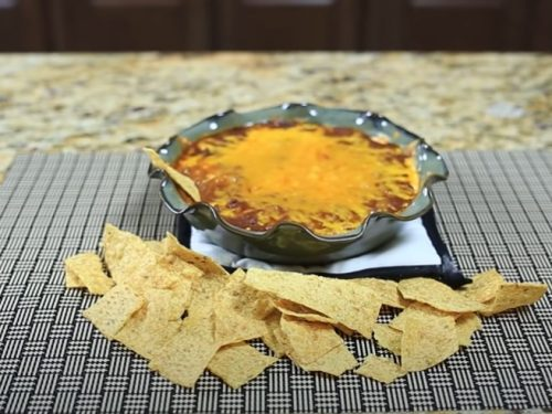 spicy chili-cheese dip recipe