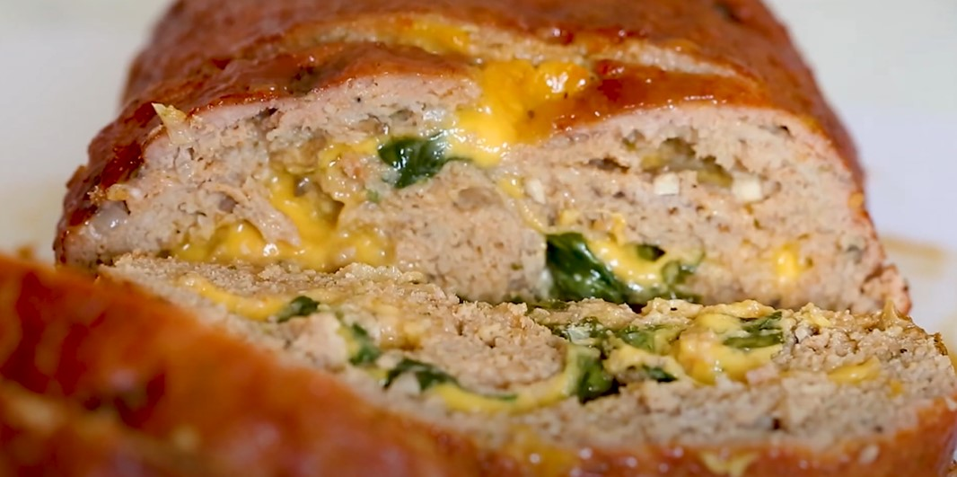cheese stuffed turkey meatloaf recipe