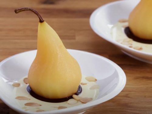 pear & cream recipe