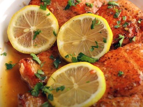 brown butter lemon salmon recipe