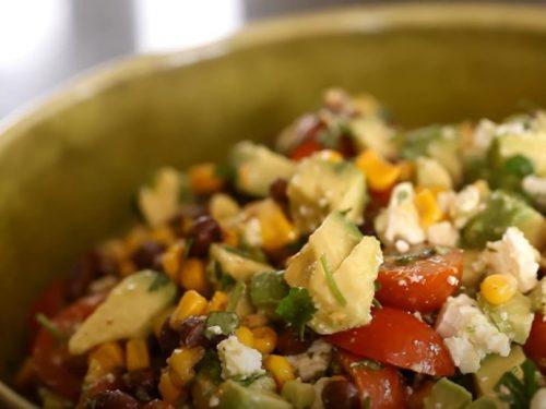 avocado and pinto bean salad with jalapenos recipe