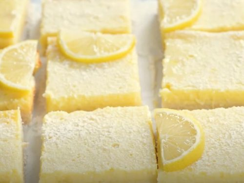 Philadelphia® 3-Step Lemon Cheesecake Bars Recipe