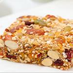 almond blueberry date granola bars recipe