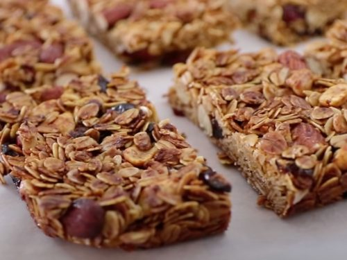 Almond Granola Bars Recipe