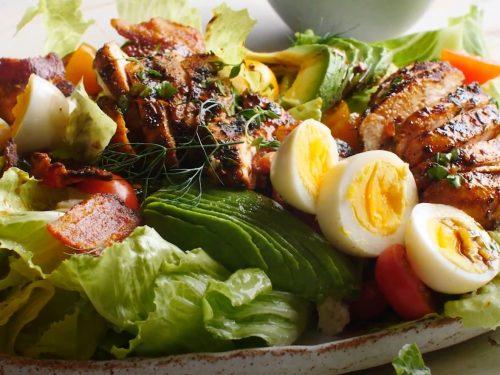 Balsamic Chicken Cobb Salad with Pasta Recipe