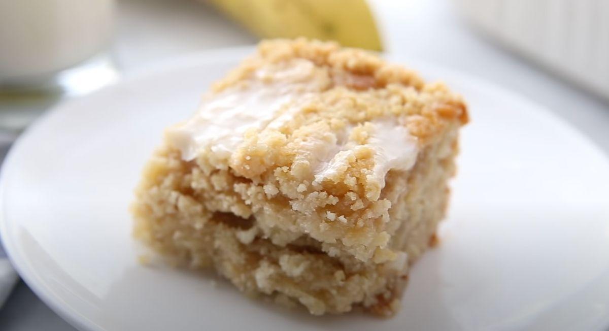 Banana Bread Crumb Cake Recipe
