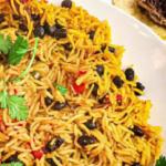 black bean and yellow rice salad recipe