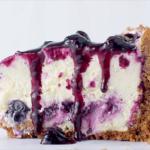 blueberry swirl cheesecake recipe