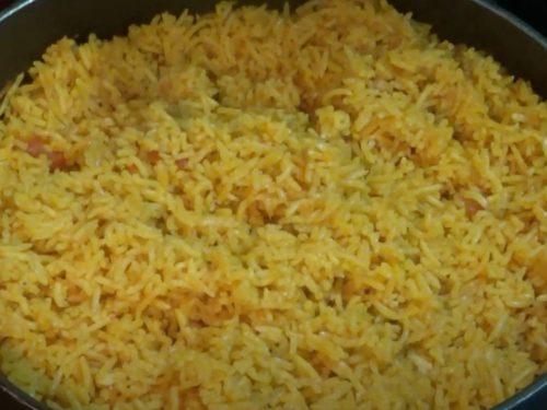 Broth Simmered Rice Recipe