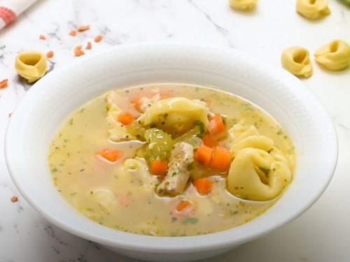 Chicken and Tortellini Stew Recipe