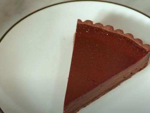Chocolate-Bourbon Tart Recipe