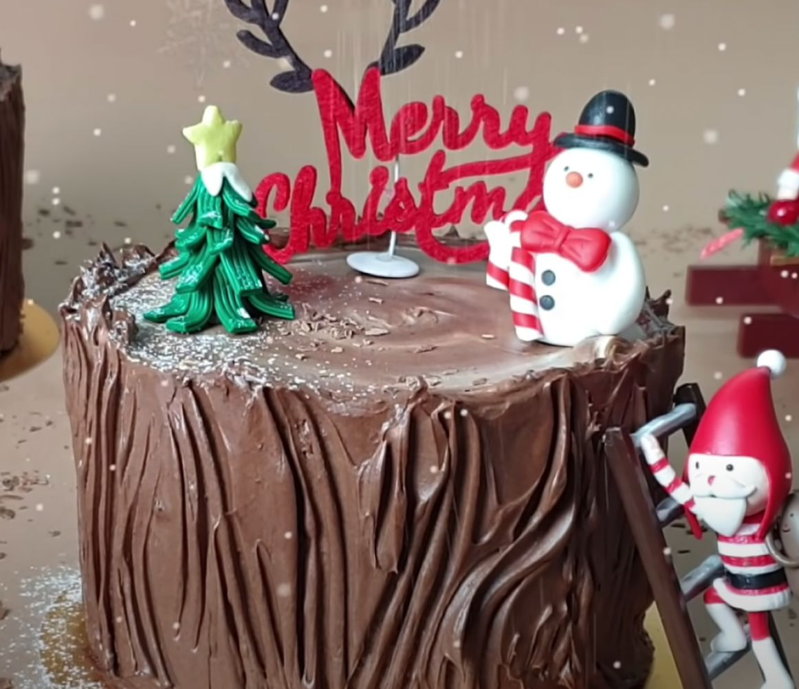 Chocolate-Malt Stump de Noel Recipe