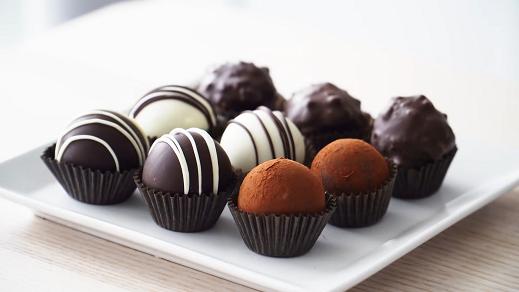 chocolate truffles with chocolate chips recipe