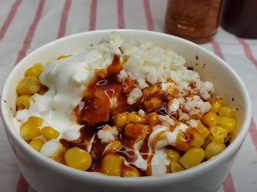 corn in a cup recipe