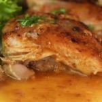 crispy garlic boneless chicken thighs recipe