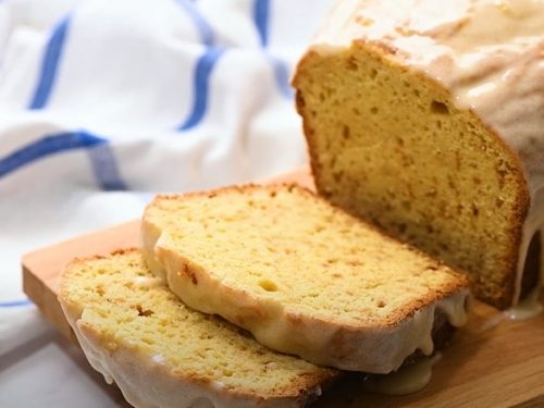 Eggnog Quickbread with an Eggnog Glaze Recipe