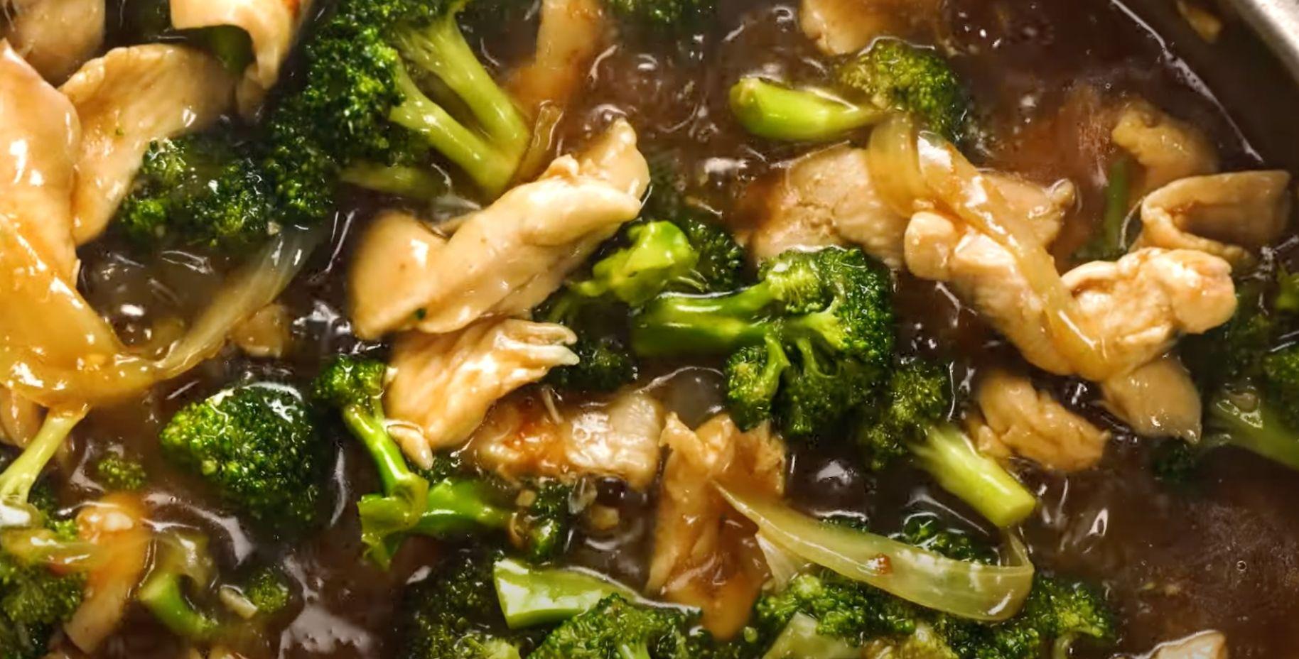 Garlic Chicken and Broccoli Cashew Stir Fry Recipe