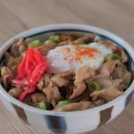 ginger pork rice bowls recipe