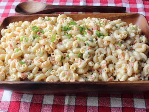 grandma's macaroni salad recipe
