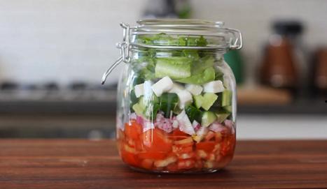 greek salad in jars recipe