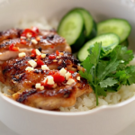 grilled citrus chicken rice bowls recipe