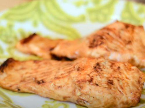 Grilled Maple Salmon Recipe