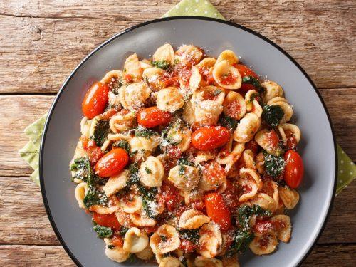 ground chicken parmesan pasta recipe