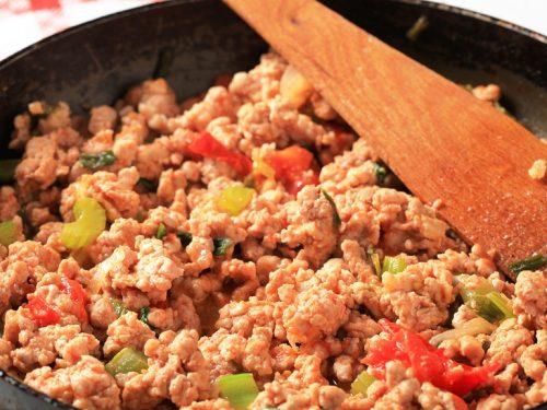 ground chicken stir fry recipe