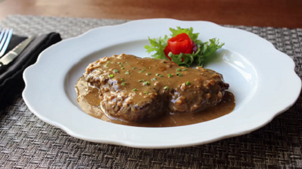 less butter steak diane recipe