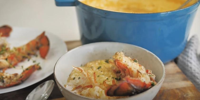 lobster risotto recipe