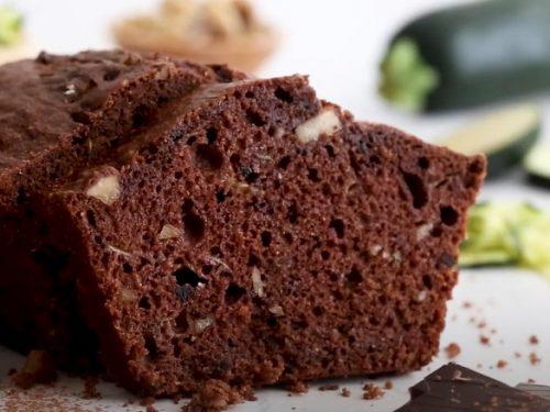 Nutty Chocolate Zucchini Bread Recipe