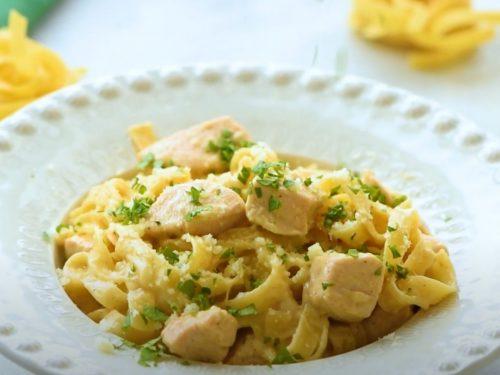 One Pot Cajun Chicken Alfredo Pasta Recipe
