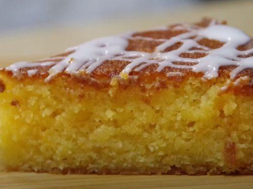 Orange Cornmeal Cake Recipe
