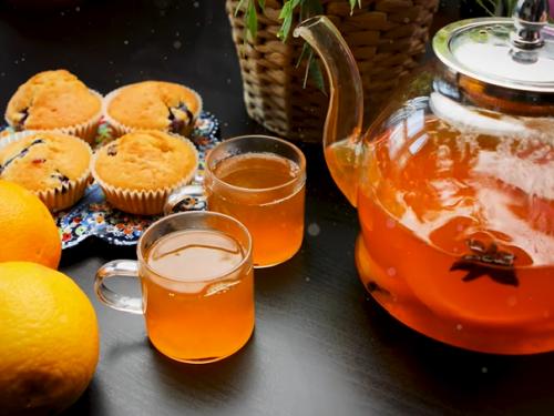 orange tea recipe