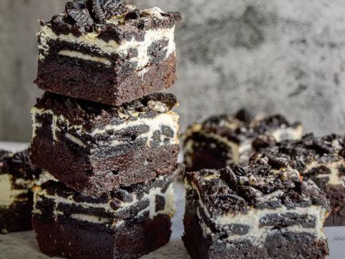Oreo Cheesecake Brownies Recipe