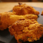 oven fried chicken with a polenta crust recipe