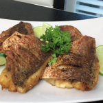 pan fried red snapper with basil recipe