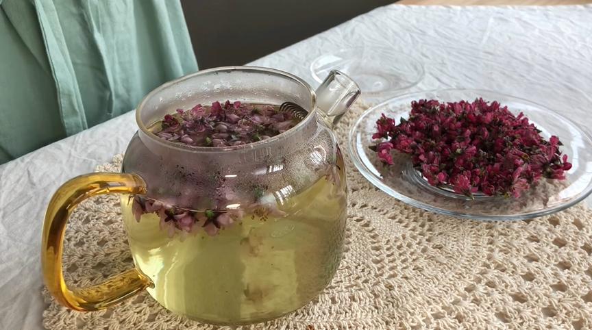 peach blossom tea recipe