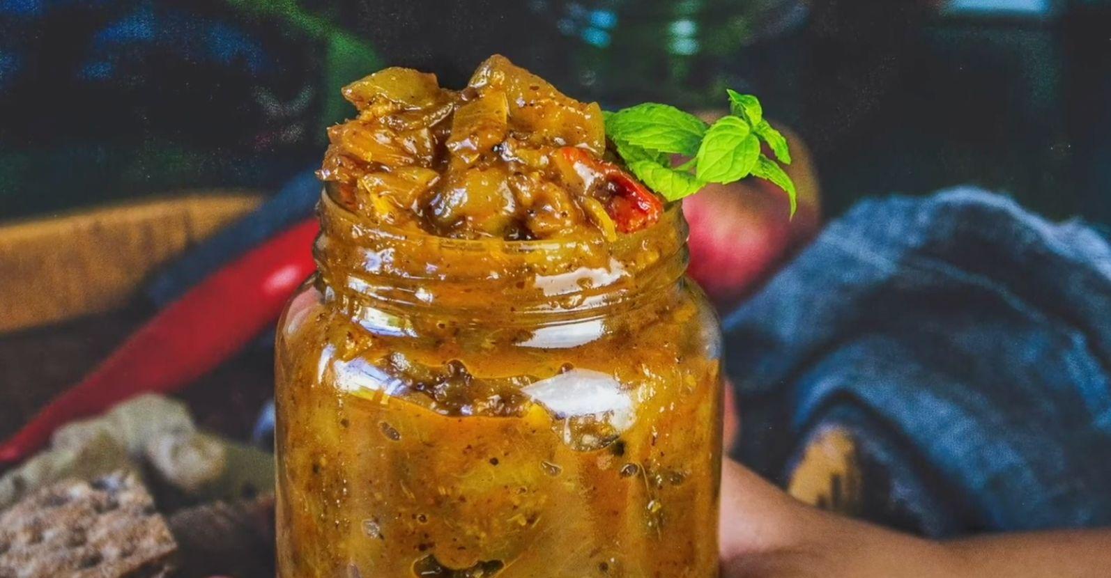 Peach Chutney Recipe
