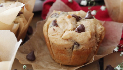 peanut butter chocolate chip zucchini muffins recipe