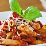 penne pasta with turkey and tomato vinaigrette recipe