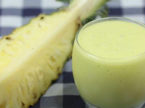 Pineapple Avocado Green Smoothie Recipe