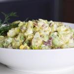 potato salad with radishes recipe