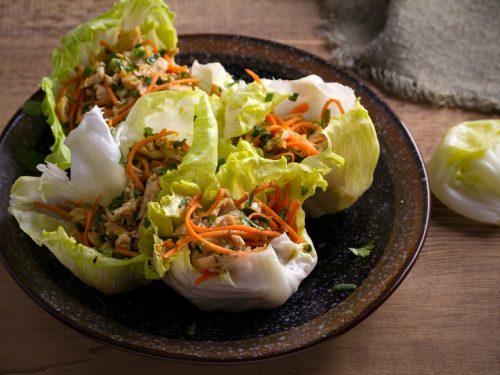 pressure cooker chicken lettuce wraps recipe
