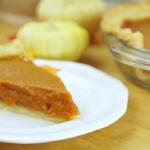 pumpkin pie wheat free egg free and dairy free recipe