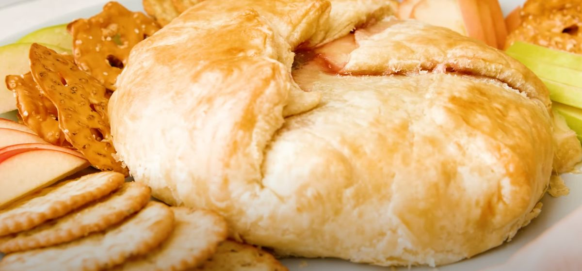 Raspberry Baked Brie Recipe