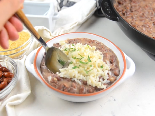 red beans and rice recipe (popeyes copycat)