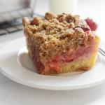 rhubarb strawberry cake recipe