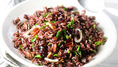rice pilaf with cranberries and pecans recipe